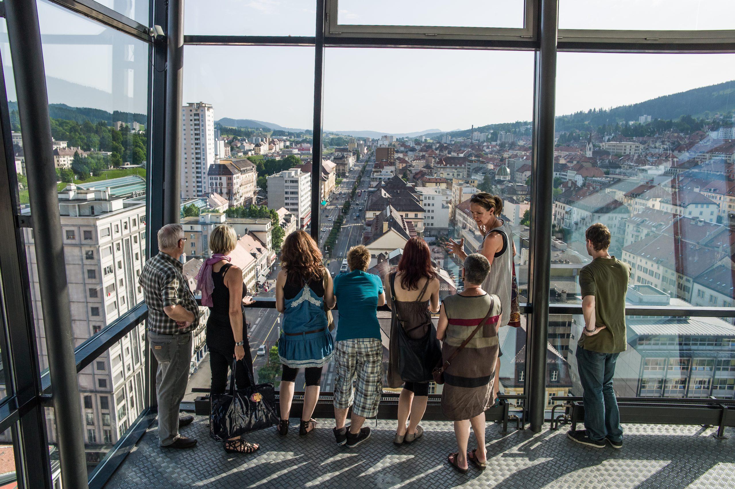 """Watchmaking town planning"" guided walking tour"