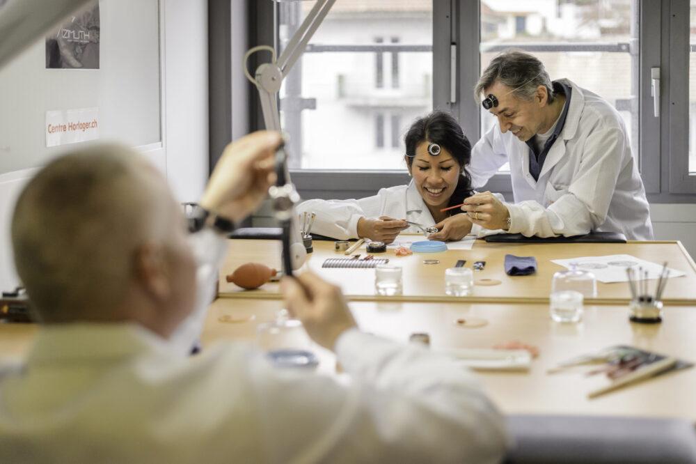 """Workshop at """"Le Centre Horloger"""""""