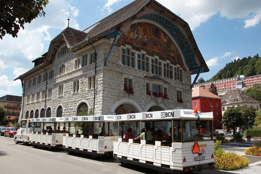 Visite de ville en train touristique
