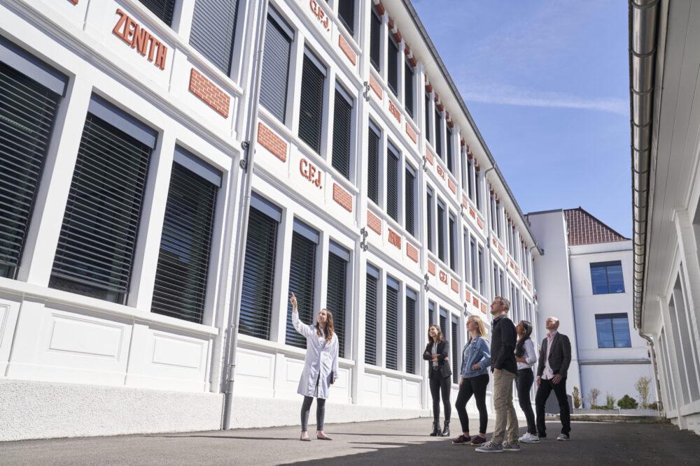 Visite publique de la Manufacture Zenith